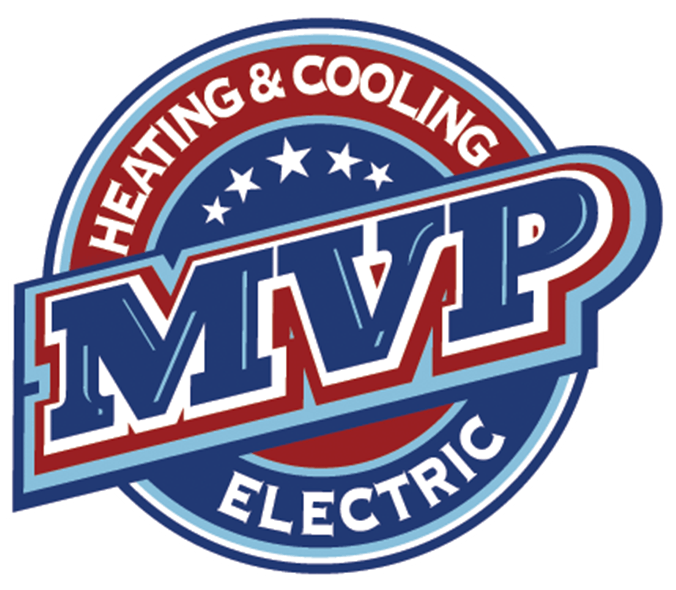 Heating And Cooling Company  MVP Electric Logo